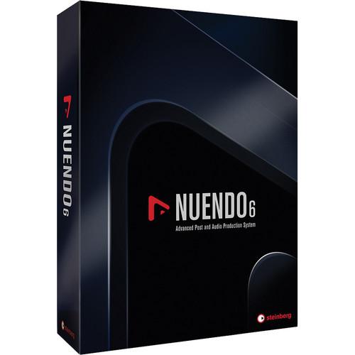Steinberg Nuendo 6 + NEK - Audio and Post Production Software (Update from Nuendo 5 + NEK)