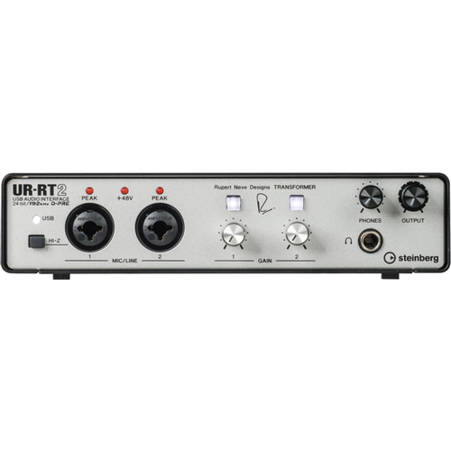 Steinberg UR-RT2 USB Interface with Transformers by Rupert Neve Designs