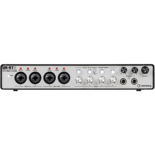 Steinberg UR-RT4 USB Interface with Transformers by Rupert Neve Designs