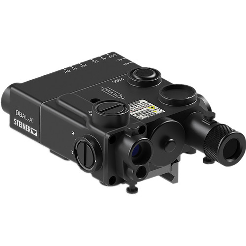 Steiner DBAL-A3 VisibleGreen/IR Laser Sight with IR Illuminator