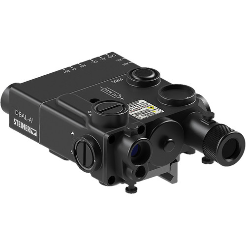 Steiner DBAL-A3 VisibleRed/IR Laser Sight with IR Illuminator