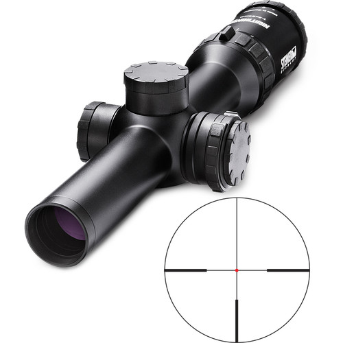 Steiner 1-5x24 Nighthunter Extreme Riflescope (4A-1 German #4 Illuminated Reticle)
