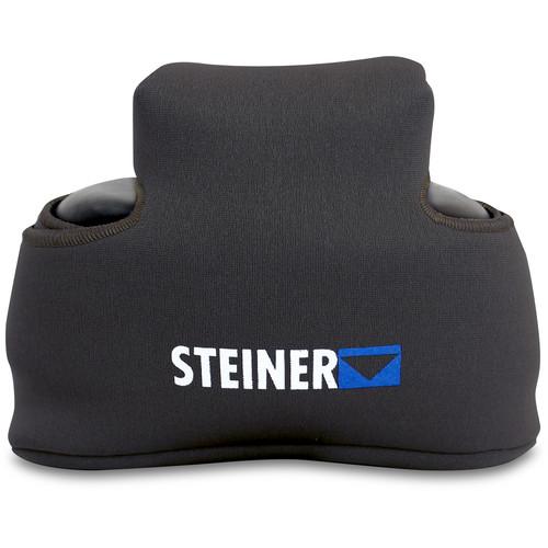 Steiner Binocular Bib Cover for 8x42 & 10x42 Roof Prism Binoculars (Black)