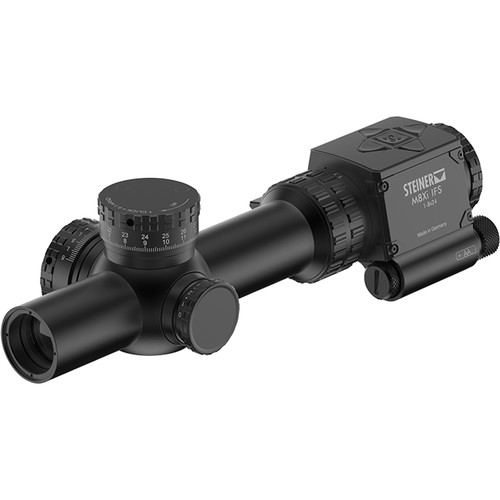 Steiner 1-8x24 M8Xi IFS Riflescope (Illuminated G2B Mil-Dot Reticle)