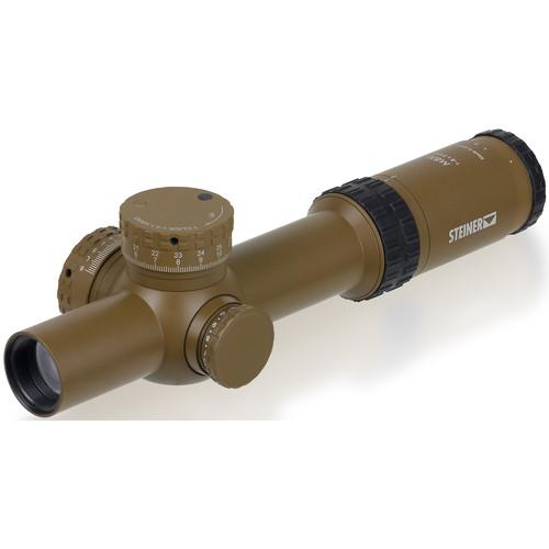 Steiner 1-8x24 M8Xi Riflescope (DMR8i Reticle, Coyote Brown)