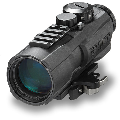 Steiner 5x36 M536 Illuminated Prism Sight (7.62 Rapid Dot Reticle, Black)