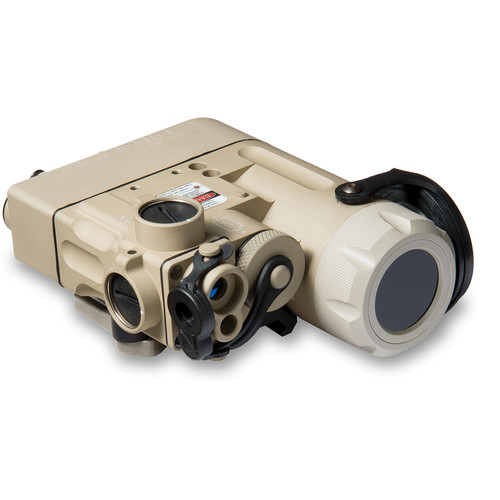 Steiner DBAL-D2 Green/IR Aiming Laser Sight with IR LED Illuminator (Desert Sand)