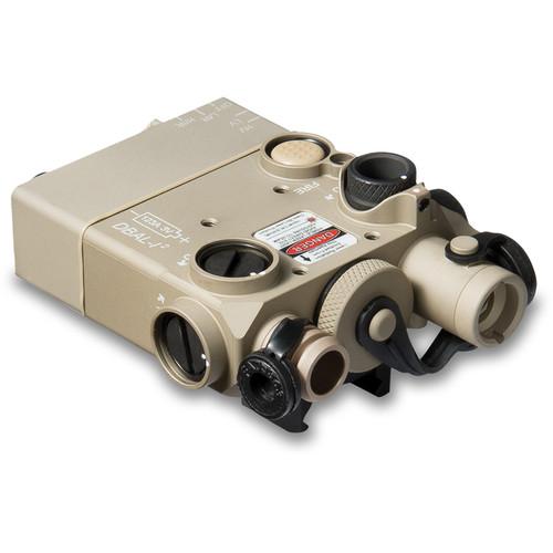 Steiner DBAL-I2 Dual-Beam Red Visible/IR Aiming Laser (Desert Sand)