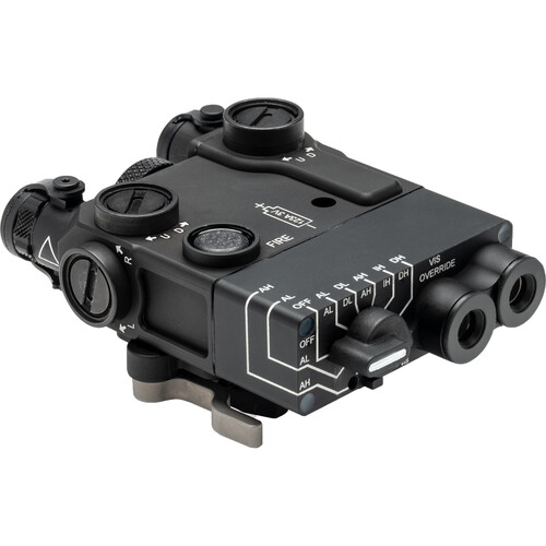 Steiner DBAL-A3 class 1/3R Civilian Visible Green/IR Laser Sight with IR Illuminator (Black)