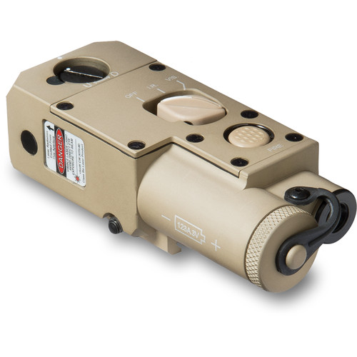 Steiner CQBL-1 Close Quarters Battle Visible/IR Laser Sight (Desert Sand)