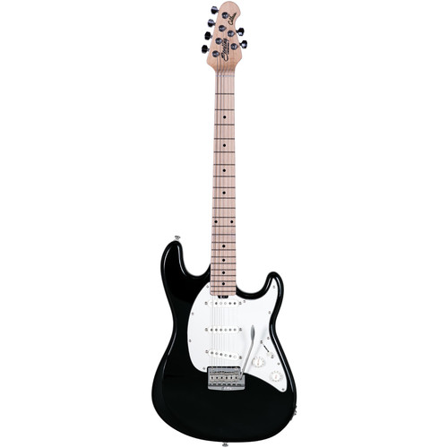 Sterling by Music Man CT50 Cutlass Series Electric Guitar and Interface Starter Kit (Black)