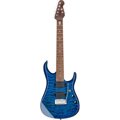 Sterling by Music Man JP157 John Petrucci Series 7-String Electric Guitar (Neptune Blue)