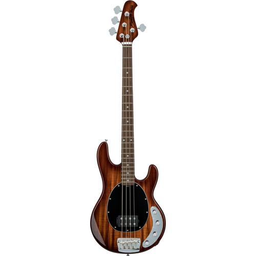 Sterling by Music Man Ray34-KOA Electric Bass (Shaded Koa Top)