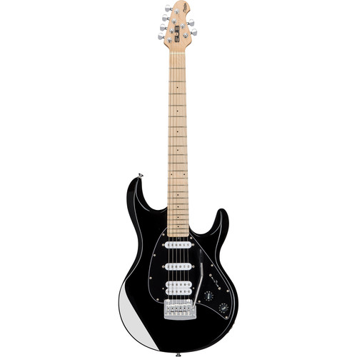 Sterling by Music Man Silhouette Silo3 Sub Series Electric Guitar (Black)
