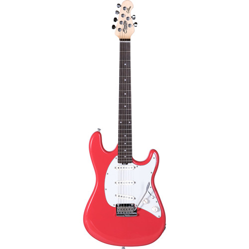Sterling by Music Man CT50 Cutlass Series Electric Guitar (Fiesta Red)