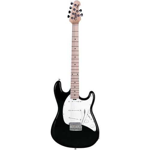 Sterling by Music Man CT50 Cutlass Series Electric Guitar (Black)