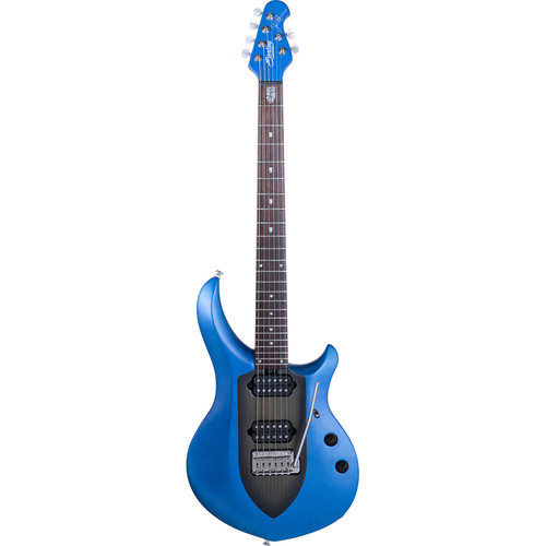 Sterling by Music Man JP Majesty John Petrucci Series Electric Guitar (Stealth Sapphire)