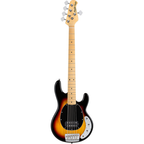 Sterling by Music Man Ray35CA Classic Active 5-String Electric Bass (3-Tone Sunburst)