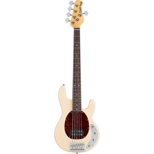 Sterling by Music Man Ray35CA Classic Active 5-String Electric Bass (Vintage Cream)