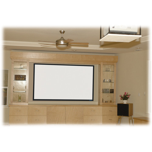 "Stewart Filmscreen Cima 137"" 16:10 Presentation Format Fixed Frame Projection Screen (White)"