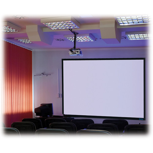 "Stewart Filmscreen Cima 130"" 16:10 Presentation Format Fixed Frame Projection Screen (Gray)"