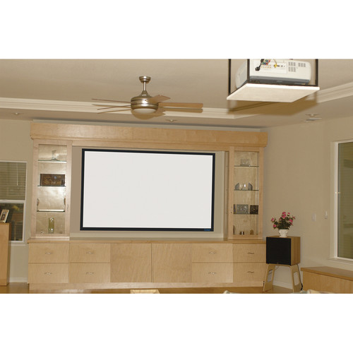 "Stewart Filmscreen 00900-3109D Cima-FF Perforado 57.5 x 92"" Fixed Frame Projection Screen"