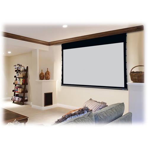 "Stewart Filmscreen Cima 92"" 16:9 HTDV Format Above Ceiling Projection Screen (White)"