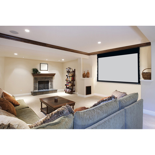 "Stewart Filmscreen 00910-1123D Cima Above Ceiling 65 x 104"" Ceiling-Recessed Projection Screen (120V)"