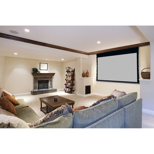 """Stewart Filmscreen 00910-2103S Cima Above Ceiling 40.5 x 95"""" Ceiling-Recessed Projection Screen (120V)"""