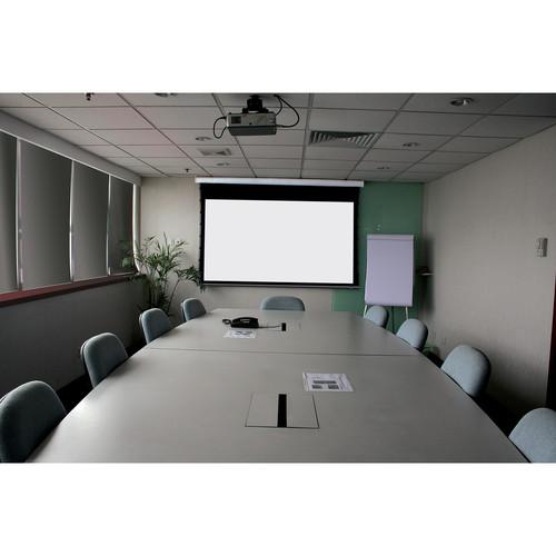 """Stewart Filmscreen 00930-1125S Cima Below Ceiling 49 x 115"""" Projection Screen (120V)"""