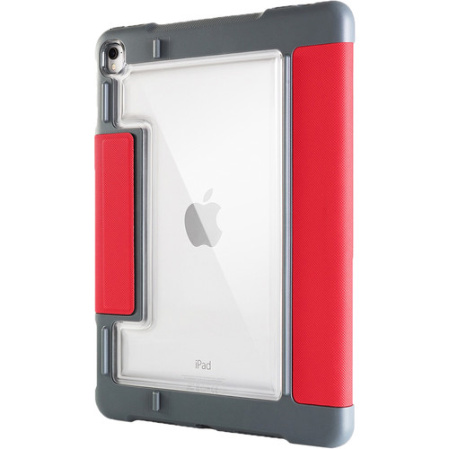 """STM Dux Plus Case for 10.5"""" iPad Pro (Red, Retail Packaging)"""