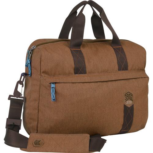 """STM Judge 15"""" Laptop Brief (Desert Brown)"""