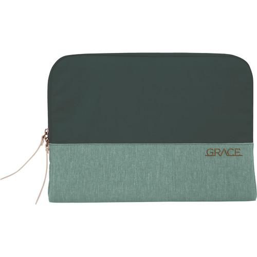 "STM Grace 13"" Laptop Sleeve (Hunter Green)"