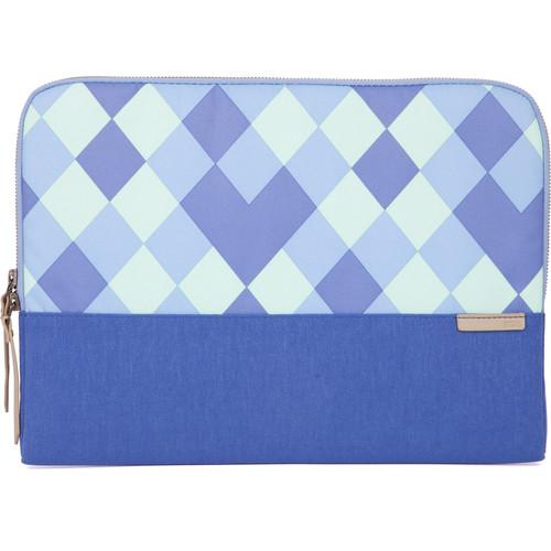 """STM Grace 13"""" Laptop Sleeve (Blue Diamonds)"""