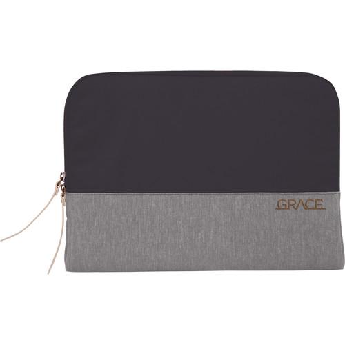 """STM Grace 15"""" Laptop Sleeve (Cloud Grey)"""