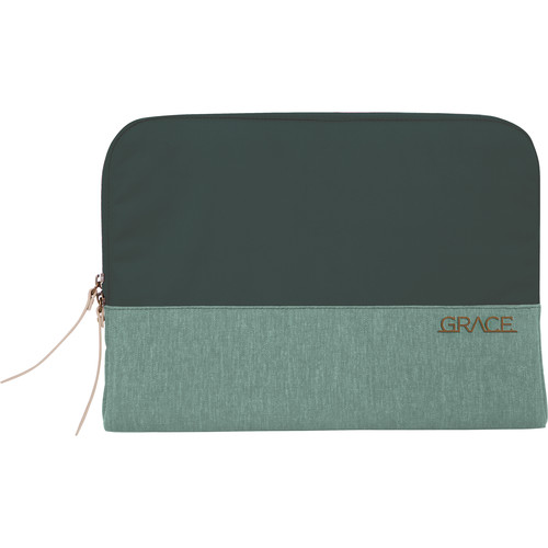 "STM Grace 15"" Laptop Sleeve (Hunter Green)"
