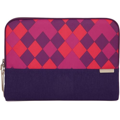 "STM Grace 15"" Laptop Sleeve (Purple Diamonds)"