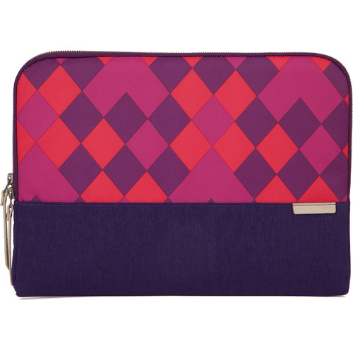 "STM Grace 15"" Laptop Sleeve (Purple Diamonds)"