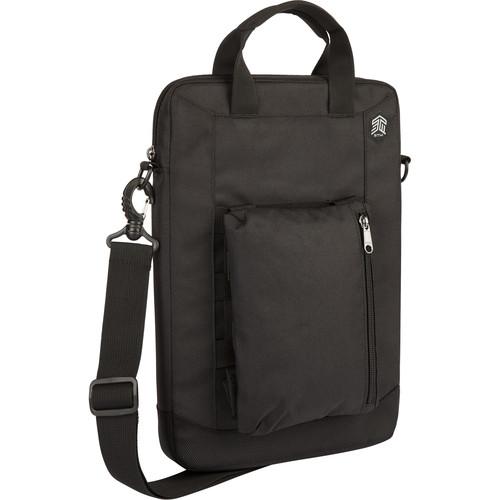 """STM Ace Vertical 11"""" to 12"""" Cargo Bag (Black)"""