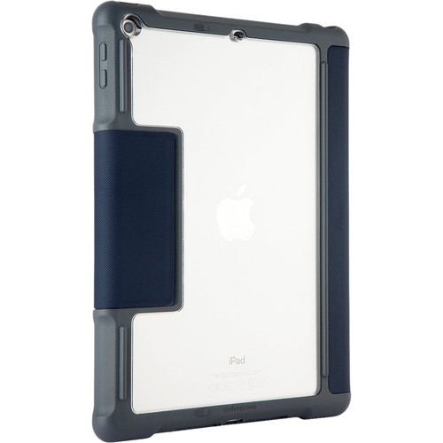 STM Dux Case for iPad (5th & 6th Gen, Midnight Blue)