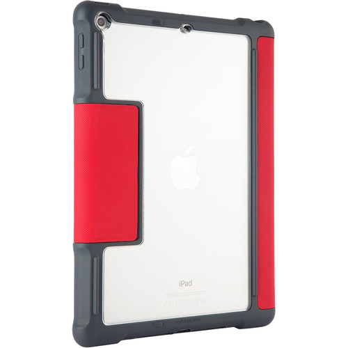 STM Dux Case for iPad (5th Gen, Red)