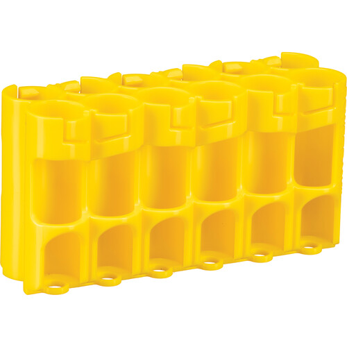 STORACELL 12 AA Pack Battery Caddy (Yellow)