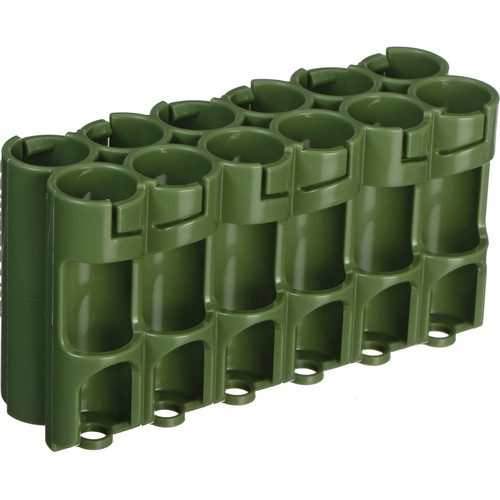 STORACELL 12 AA Pack Battery Caddy (Military Green)