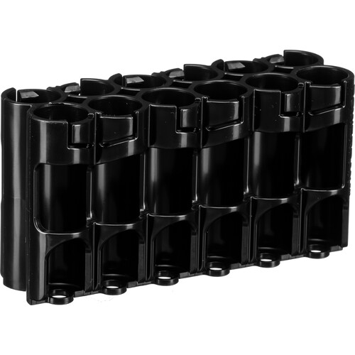 STORACELL 12 AA Pack Battery Caddy (Tuxedo Black)