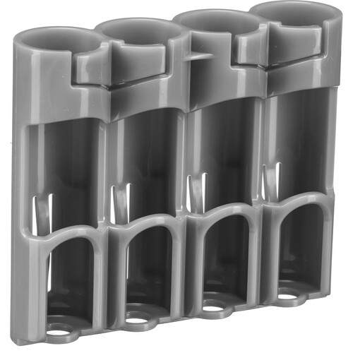 STORACELL 4 AA Pack Battery Caddy (Gray)