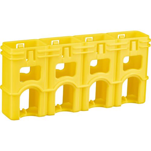 STORACELL SlimLine 9V Battery Holder (Yellow)