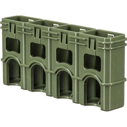 STORACELL SlimLine 9V Battery Holder (Military Green)
