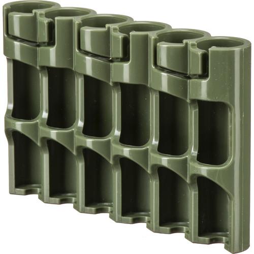 STORACELL SlimLine AAA Battery Holder (Military Green)