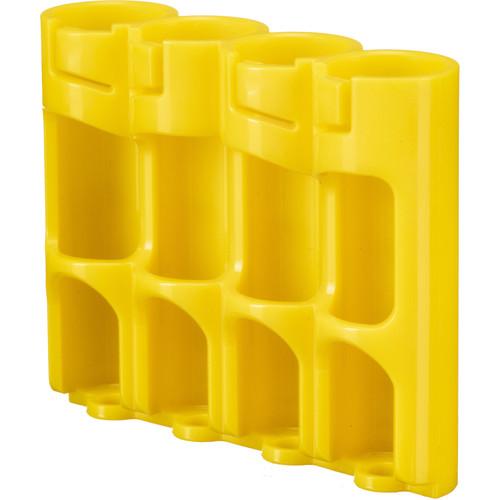 STORACELL SlimLine AA Battery Holder (Yellow)