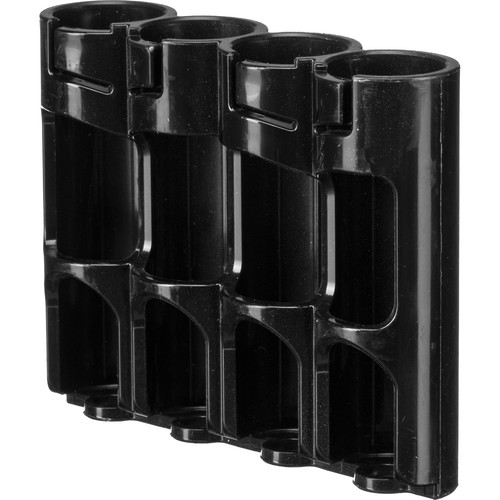 STORACELL SlimLine AA Battery Holder (Tuxedo Black)